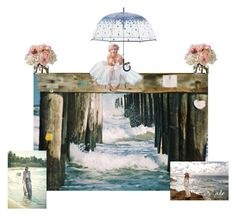 """by sea"" by gesray ❤ liked on Polyvore featuring art"