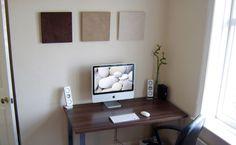 iMac zen workspace.