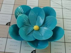 Tutorial on how to make a flower out of duct tape.  I'm serious...duct tape.