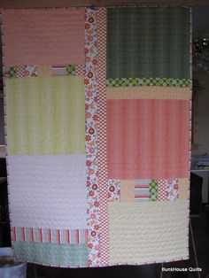 Quilting In The BunkHouse: Pieced Quilt Backings