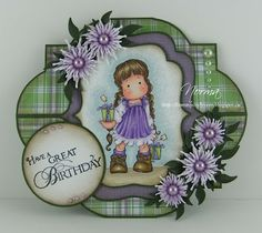 From My Craft Room: Have a Great Birthday - Crealis GDT Card