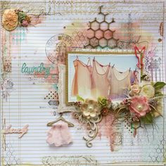 Spring is in the Air {Mixed Media with Websters Pages} (with turorial)  - Gabrielle Pollacco