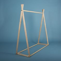 Children's Natural Clothes Rack - American Maple