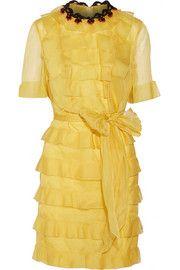 badgley mischka draped silk organza gown playing dressup pinterest