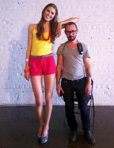 Short Guys with Tall Women