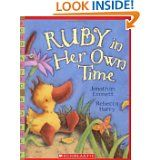 Ruby in Her Own Time by Jonathan Emmett.  A picture book, but meant a lot to me when my daughter was first diagnosed with Prader-Willi Syndrome!