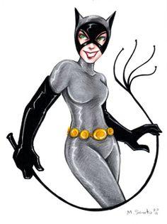BTAS Catwoman by msciuto