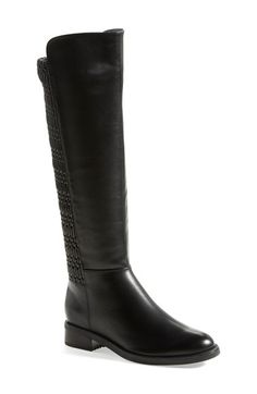 Free shipping and returns on Blondo 'Elenor' Waterproof Riding Boot (Women) at Nordstrom.com. A sleek waterproof boot lets you stride without fear into wind or rain. A full-length quilted back panel ensures a perfect fit.