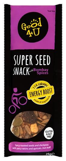 Delicious Roasted Super Seed Snacks - Our Roasted Super Seed Snacks Cinnamon Apples, Spicy, Roast, Berries, Seeds, Fiber, Coconut, Snacks, Food