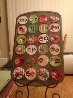My first advent calendar!