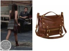 Shop Your Tv: The Vampire Diaries: Season 4 Episode 3 Elena's Brown Studded Bag