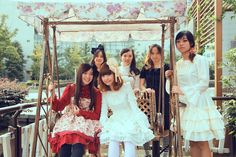 Lolita tea party  All dresses are provided by Milanoo, see more details at Milanoo facebook