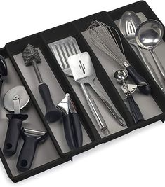 (This is an affiliate pin) Expandable Utensil Drawer Organizer Drawer