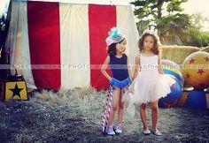 Circus Girls by Skye Hardwick / Work of Heart Photo © 2011  #circus