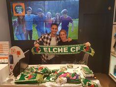 ¡Muchas gracias! a todos los seguidores #FRANJIVERDES que se han acercado a nuestra tienda Orange de C/ Corredora, 13 (Elche) para conocer a los jugadores del Elche CF