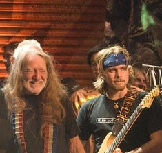 Willie Nelson and Lukas Nelson, Farm Aid | www.stillisstillmoving.com