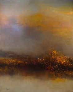 "Maurice Sapiro; Oil, 2013, Painting ""Another Morning At The Marshes"""