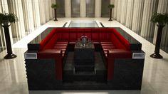 modular furniture booth