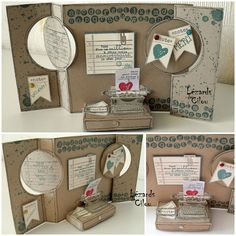 AMAZING creating using Tap, Tap, Tap from Stampin' Up with the flip framelits