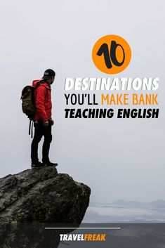 10 destinations where you'll make bank teaching English. Practical tips for those looking to work abroad. Travel Advice, Travel Tips, Travel Hacks, Travel Destinations, Travel Packing, Travel Abroad, Asia Travel, Moving Overseas, Teaching Overseas