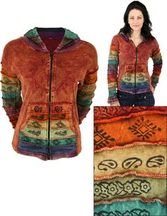 Sunshine Daydream Hooded Jacket - Every Purchase Fights Famine in the Horn of Africa & Combats Hunger in the U.S.