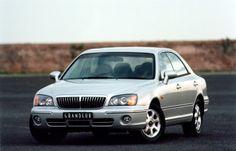 Hyundai Grandeur AU-spec (XG) '10.1998–03.2002