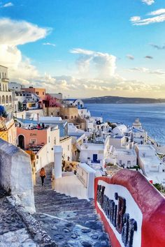 Caldera in Fira - Santorini  - Franklin Tote in Red would be perfect - http://www.sfbags.com/products/franklin-tote