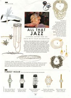 Our tiaras feautured in The Sunday Times Syle Magazine