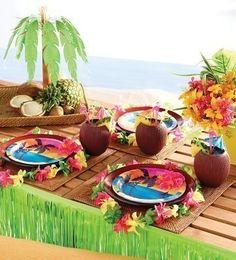 kids-party-world.de   Sommer Party Deko - Aloha Summer gerade rechtzeitig zum Sommeranfang eingetroffen.