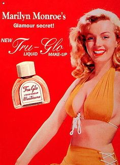 Marilyn Monroe ~ Tru-Glo Liquid Makeup