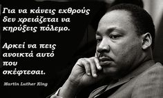 """Today I was looking over some quotes by Mr. King, and this one especially stood out to me: """"You may be 38 years old, as I happen to be. Martin Luther King, Martin King, Postive Words, King Quotes, Images And Words, Famous Words, Reading Quotes, Greek Quotes, Love Reading"""