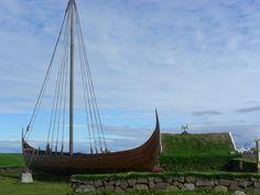 Viking ship Viking Ship, Outdoor Furniture, Outdoor Decor, Sailing Ships, Hammock, Vikings, Boat, Viajes, The Vikings