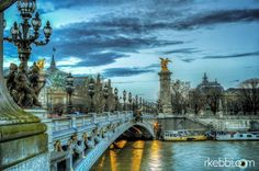 Paris et Le pont Alexandre III