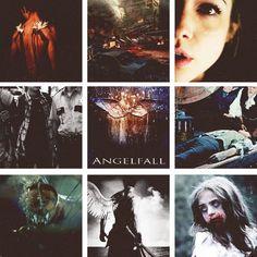 """""""Pensava que anjos fossem doces e bons"""" - Penryn comenta quando Raffe afirma que anjos são violentos por natureza"""