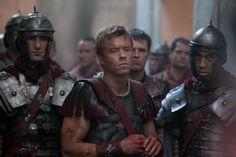 Spartacus - Gaius Julius Caesar Rome Costume, Movie Costumes, Spartacus Tv Series, Gaius Julius Caesar, Spartacus Blood And Sand, Gods Of The Arena, Starz Series, Roman History, Ancient Rome