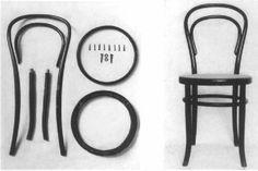 Silla Thonet No. 14:  1859
