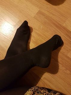 95a239a73 Worn And Used Black Nylon Tights Size M  fashion  clothing  shoes   accessories