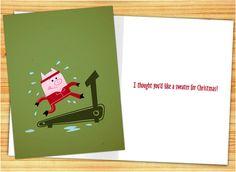 Greeting Cards by Chad Geran, via Behance