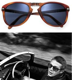 This October, Persol will release updated versions of the trademark McQueen 714s  Read more at http://www.thehighdefinite.com/2010/09/steve-mcqueen-persol-714-sunglasses