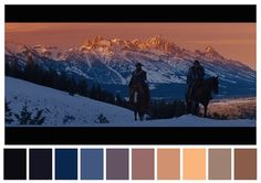 Cinema Palettes: Color palettes from famous movies - Django Unchained