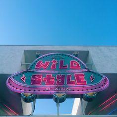Wild Style (Sam) - Neon Light Effect Sign.