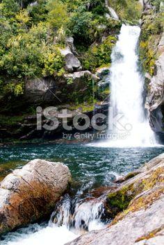 Wainui Falls, Golden Bay, New Zealand Royalty Free Stock Photo