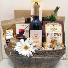 Gourmet Basket For A Wedding Anniversary!