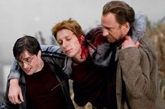 Harry Potter, George Weasley and Lupin