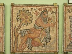 https://flic.kr/p/z7gX3 | Qasr Libya | River God of the Rhone, from the floor of one of the Byzantine churches.