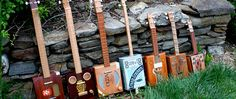 cigar box ukuleles for that back woods sound