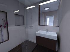 Vizualizácia kúpeľne E-SHOP obklady a sanita - ALEA STUDIO