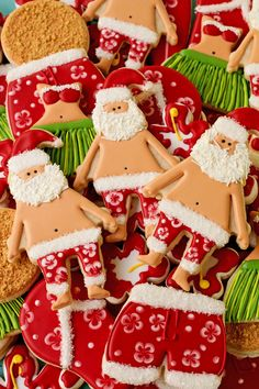 29 Best Christmas Biscuits Santa Images In 2015 Christmas