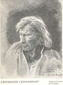 Læstadian lay-preacher in Finnmark 1898
