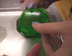 How to Make Gummy Gems Tutorial on Cake Central